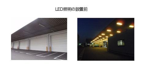 LED照明の設置前