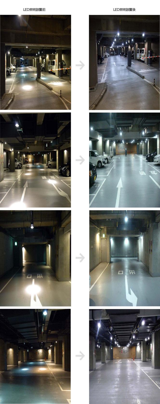 ホテルLED照明設置例2